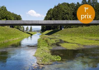 051_SIL | pont sur le canal du rhône, 1er prix