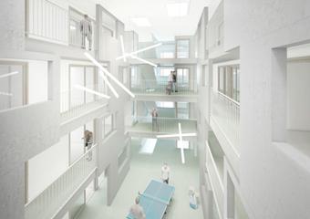 090B_SEV / résidence pour étudiants
