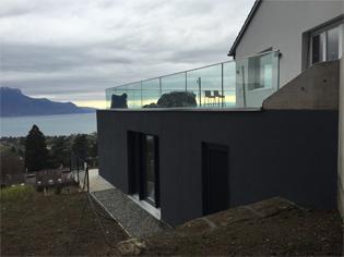 Livraison d'une villa dans les hauts de Montreux