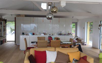 Livraison d'une villa à Blonay