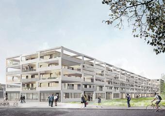 090A_SEV / 70 appartements subventionnés et bureaux