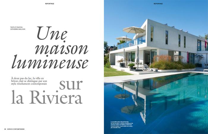 "La villa 086_RID dans la revue ""Espaces Contemporains"""