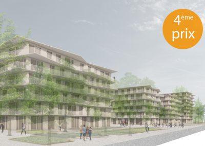 167_PDL C | écoquartier des plaines-du-loup PPA 1- pièce urbaine C