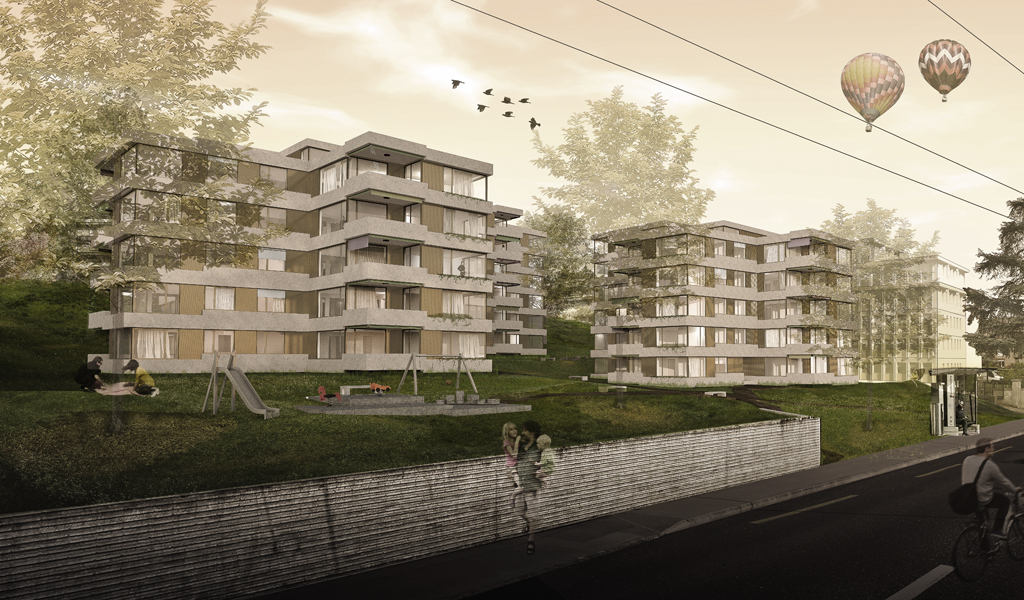 Concours: Réalisation de logements et de surfaces administratives