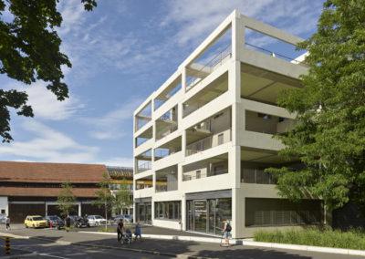 090A_SEV | 70 appartements subventionnés et bureaux