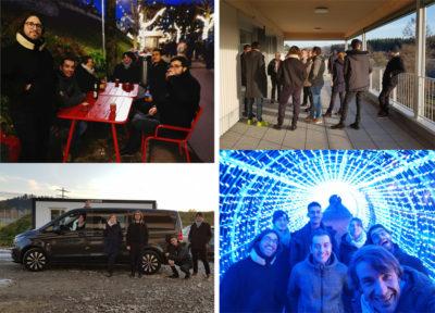 Sortie de bureau | Visite de chantier | Marché de Noël à Berne | Repas à Vevey