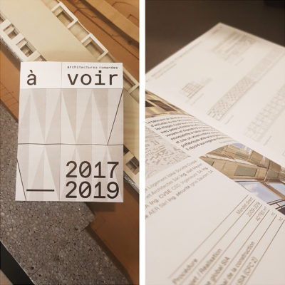 """Fornet Architectes dans """"A voir 2017-2019"""""""