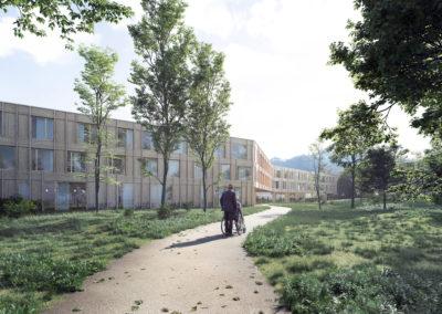 194_EMS_BEX | Résidence Grande-Fontaine | Construction d'un EMS de 120 chambres